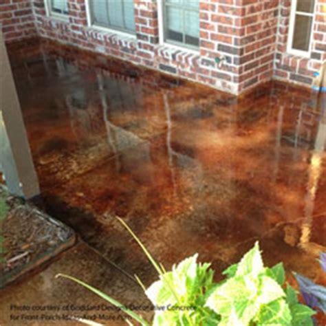 screened porch makeover rough concrete floor concrete flooring staining concrete floors front porch