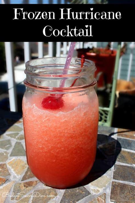 frozen hurricane cocktail recipe restaurant dr oz