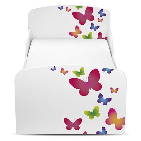 papillons mdf lit enfant b 201 b 201 de luxe matelas neuf enfants