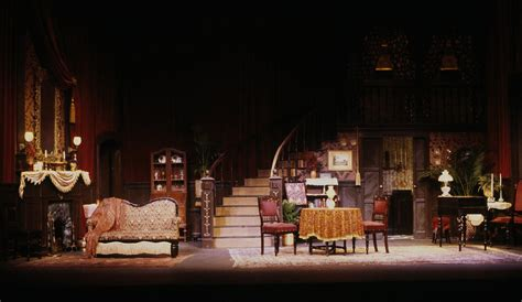 lights that play quot gaslight quot stage play set and lighting design rick romer