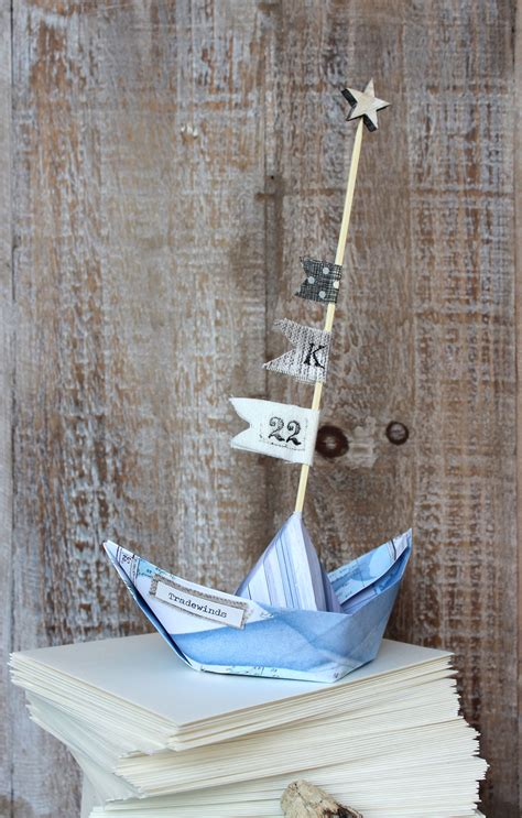 How To Make A Strong Paper Boat - lost arts paper boats