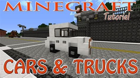minecraft truck minecraft cars and pick up truck tutorial youtube