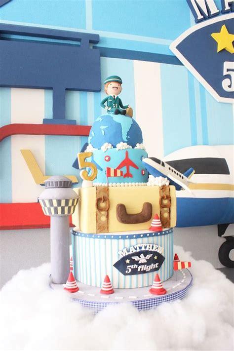 airplane themed birthday decor image inspiration of cake