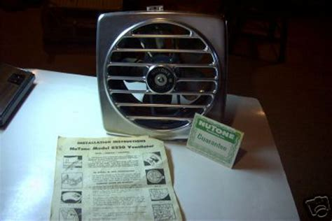 nutone kitchen exhaust fans retro kitchen exhaust fan mint in box from nutone today s ebay retro renovation