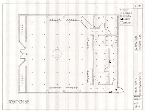 layout lighting plan retail layout on behance