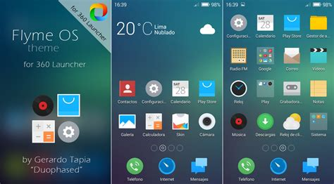 themes color os flyme os theme for 360 launcher by duophased on deviantart
