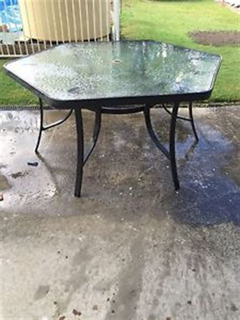 Octagon Glass Patio Table by Octagon Outdoor Table Gumtree Australia Free Local