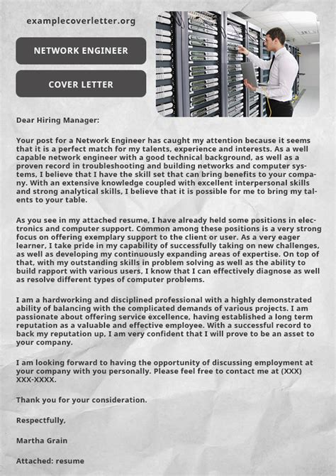 network engineer cover letter exles network engineer cover letter exle exle cover letter