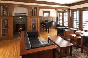 Mission style living room furniture family room craftsman