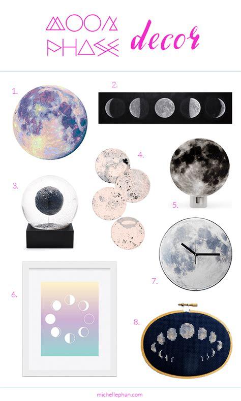 moon home decor moon phase home decor michellephan phan