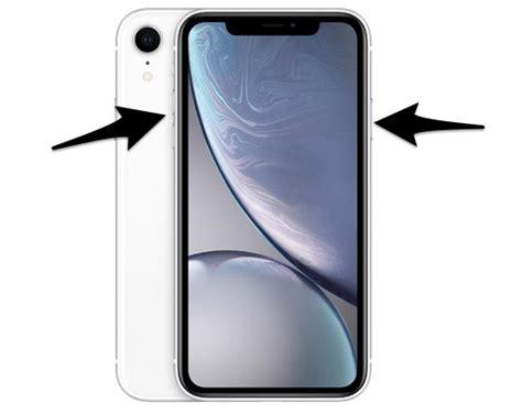 iphone xr how to take a screenshot
