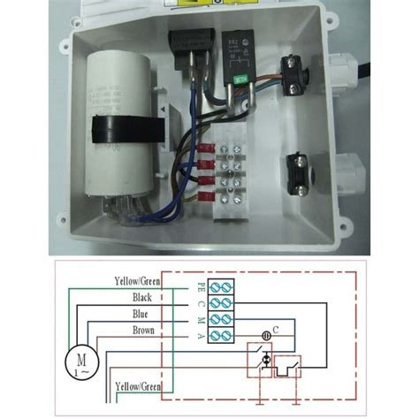 franklin electric box wiring diagram well