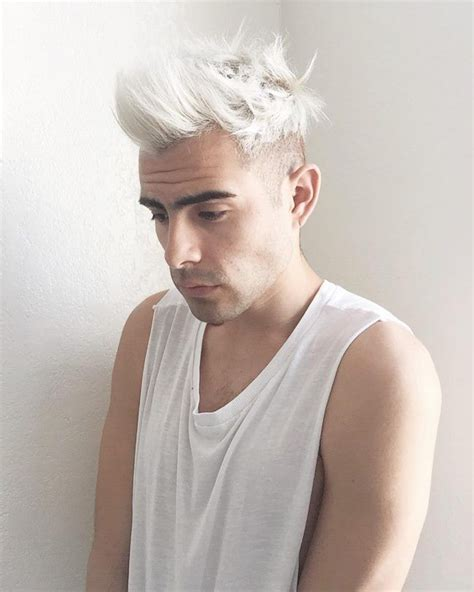Images Of Hair Bleached White | 17 best images about hair on pinterest white hair