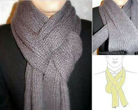 cool way to tie a scarf my style