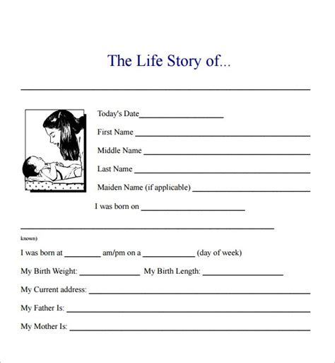 biography report exle 10 biography templates word excel pdf formats
