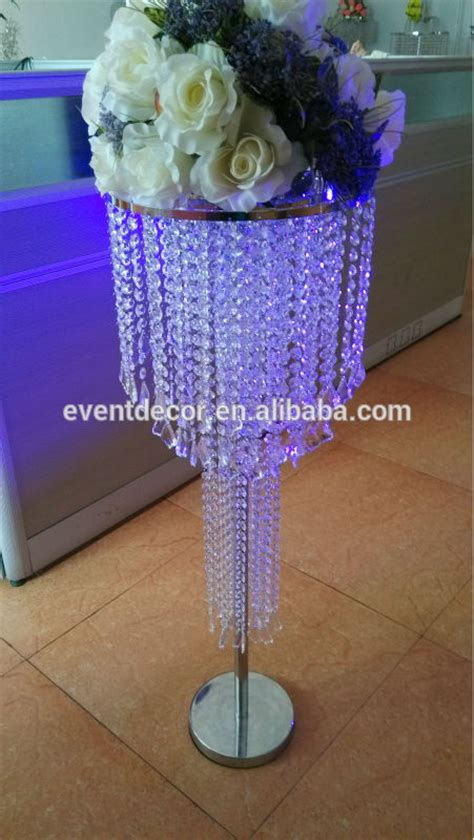 Acrylic Vases Centerpieces by Amazing Wedding Chandelier Table Centerpieces