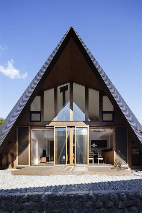 Folded Paper House - fascinating origami house with architectural comfort