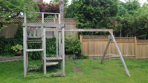 backyard swing backyard swings free stock photo domain pictures