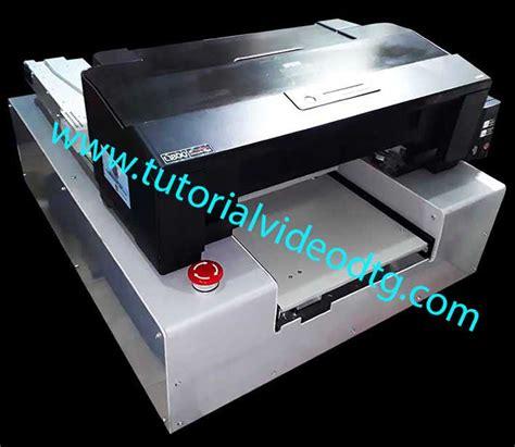 Printer Kaos Dtg A4 Epson T13 cara membuat printer dtg untuk sablon print kaos