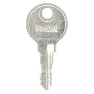 keys for sandusky file cabinets and desks. easykeys.com