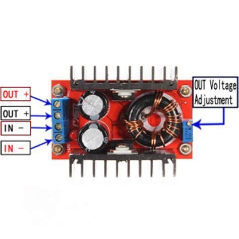 Dc Boost Converter Step Up 150w 6a Penaik Tegangan Volt Dc dc dc boost converter voltage step up module 150w 6a makers electronics