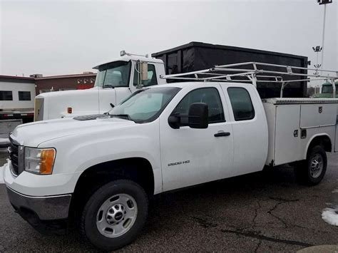 gmc service truck 2012 gmc 2500hd service utility truck for sale salt