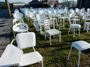 Chair Memorial Christchurch by 185 Chairs Memorial To 185 Christchurch Earthquake