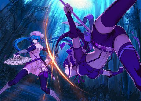 anime battle blade wielding girl wallpaper pack 3 randomness thing