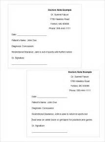 doctor excuse template 22 doctors note templates free sle exle format