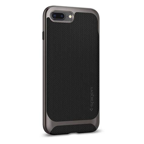 Spigen Neo Hybrid Herringbone Iphone 8 Plus 7 Plus Shiny Black spigen 174 neo hybrid herringbone 055cs22227 iphone 8 plus