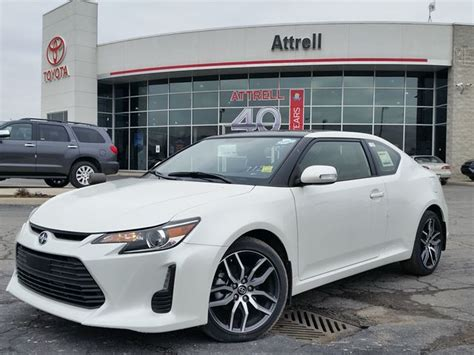 scion tc white 2016 scion tc white blizzard pearl for 24707 in brton
