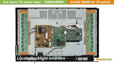 tv turns  backlight inverter immediately turns  tv