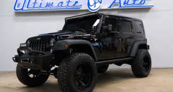 Blacked Out Jeep Wrangler Florida Dealer Builds Blacked Out Wrangler Rock