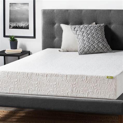 lucid bed lucid 10 in king ventilated latex foam mattress