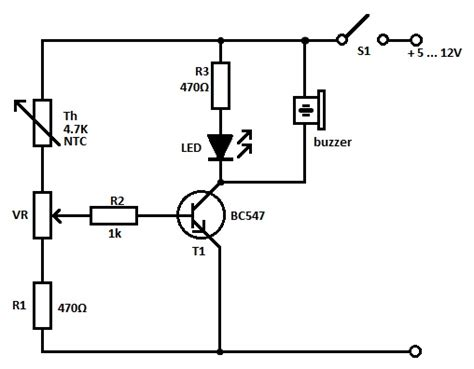 Add On Garage Designs heat sensor circuit