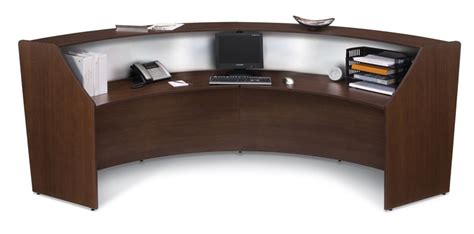 Oval Reception Desk 1pc Oval Modern Contemporary Office Reception Desk Of Map R2 Ebay