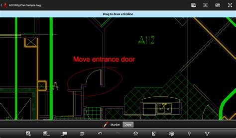 autocad   android device featureup