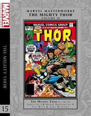 marvel masterworks the vol 11 books marvel masterworks the mighty thor vol 15 vol 15 len