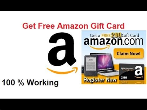 Free Amazon Gift Card No Surveys - get free amazon gift card no surveys 100 working youtube