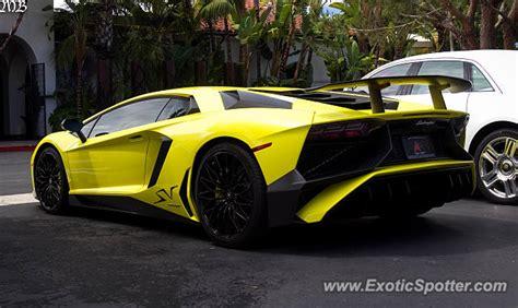 Lamborghini California Lamborghini Aventador Spotted In Newport California