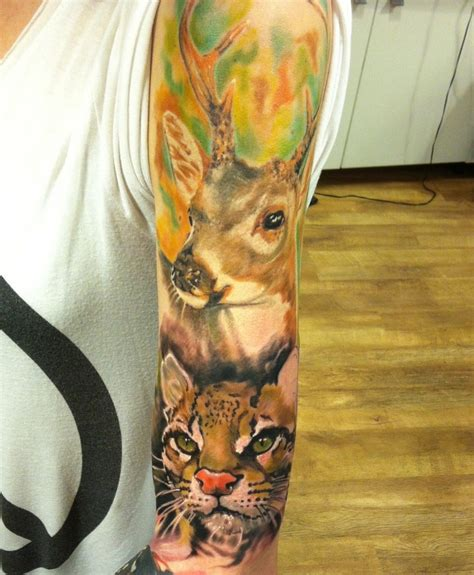 animal tattoo sleeve animal tattoos designs ideas and meaning tattoos for you