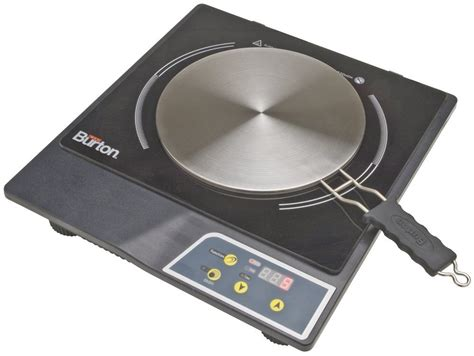 induction stoves max burton 6015 portable induction cooktop with interface disk