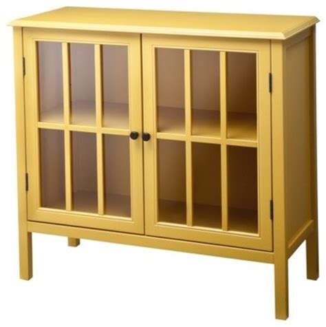 Yellow Storage Cabinet Accent Storage Bookcase Cabinet Yellow Modern Accent Chests And Cabinets By Target