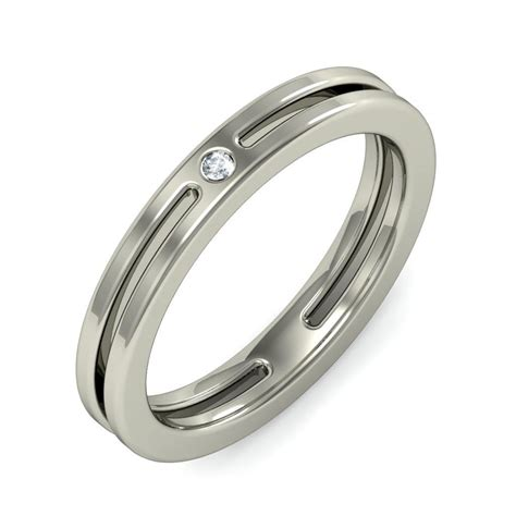 unique white gold wedding bands lovely wedding ring with 0 10 carat cut