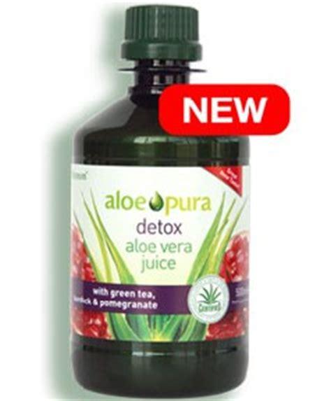 Aloe Pura Detox Aloe Vera Juice by Ransom Aloe Pura Aloe Pura Detox Aloe Vera Juice With