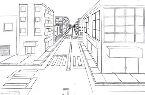 tutorial gambar perspektif one point perspective drawing the ultimate guide