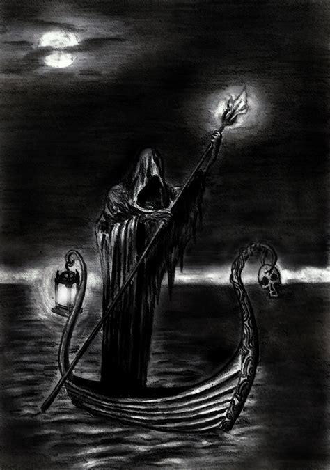 styx tattoo charon ferryman across river styx evil