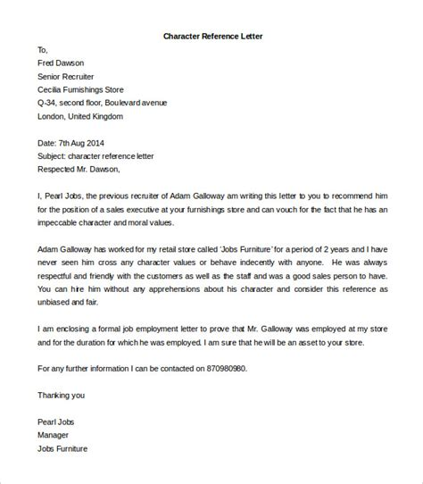 letter of recommendation template word free reference letter templates 32 free word pdf