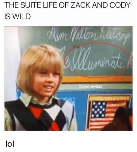 Zack Meme - the suite life of zack and cody is wild lol life meme on