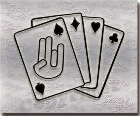 Tuning Aufkleber Hand by Tuning Aufkleber The Shocker Hand Karten Asse Bestellen